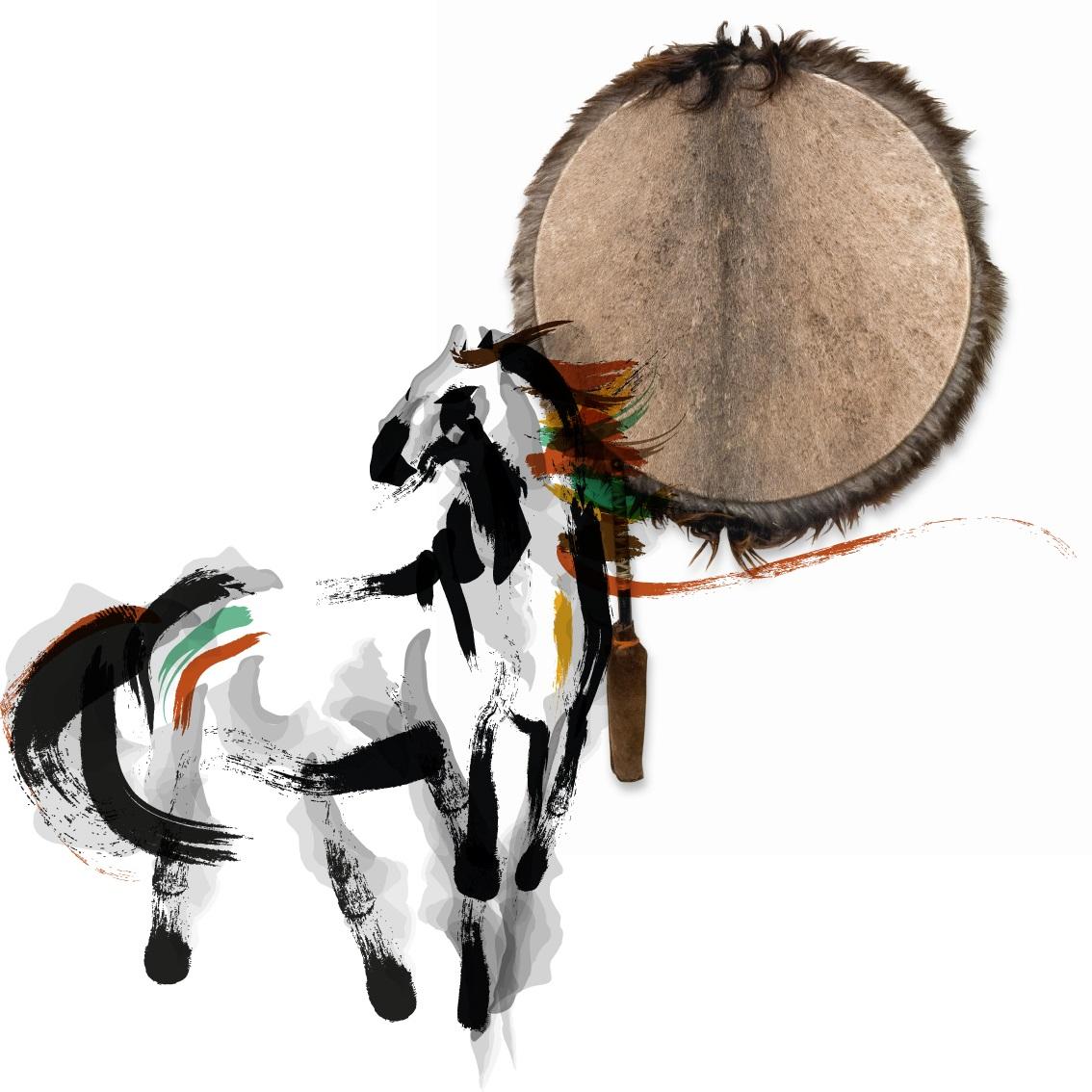 Paard-drum